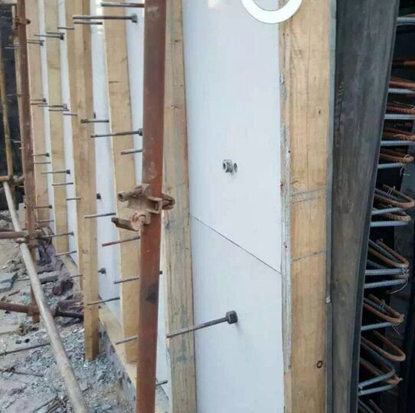PVC白色建筑模板qs-02