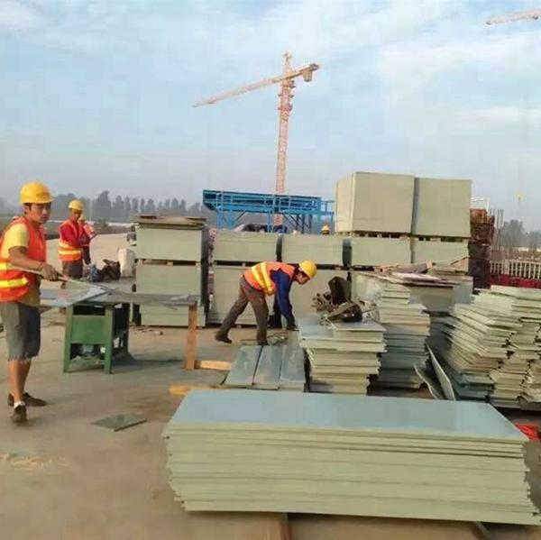 PVC灰色建筑模板qs-0