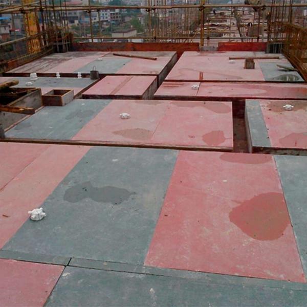 PVC棕色建筑模板qs-02